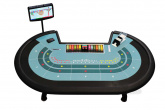 Baccarat table (Punto Banco)