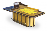 American Roulette Table customized