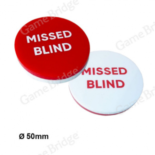 "Кнопка GB ""Missed Blind"""